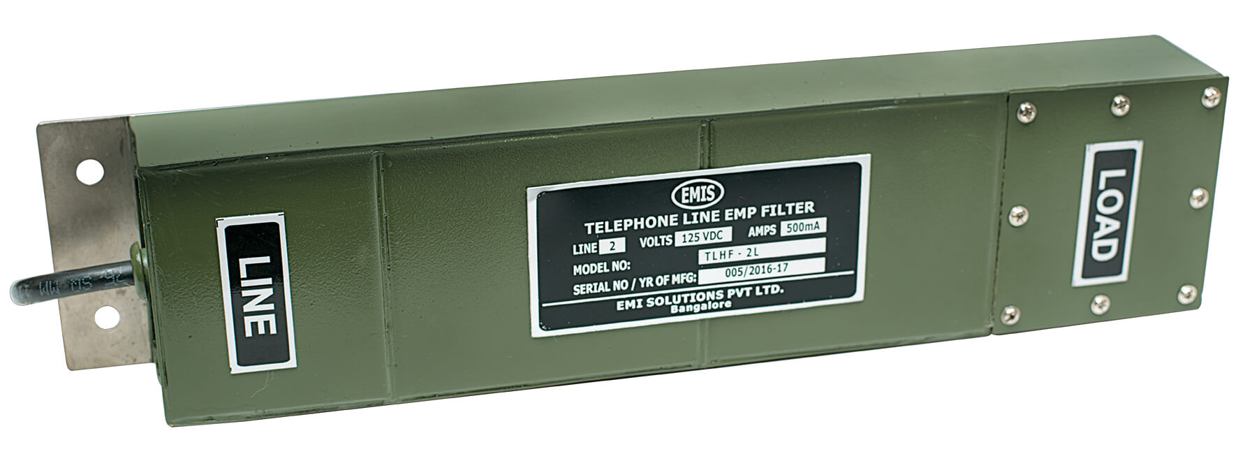 Multi Line Analogue Telephone Line HEMP Filter